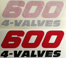 YAMAHA XT600 SIDE PANEL DECALS X 2