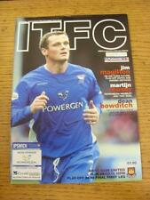 15/05/2004 Play-Off Semi-Final Division 1: Ipswich Town v West Ham United  . Ite