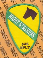 1st Cavalry Div 5 PLT 545 MP Co NIGHT STALKERS patch
