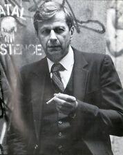 X-FILES SMOKING MAN - WILLIAM B. DAVIS 8 x 10 B/W Publicity PHOTO