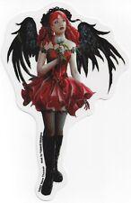 Elegant Red Gothic Faery Fairy Sticker Car Decal Nene Thomas goth faerie