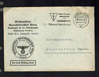 1941 Berlin Germany General Field Marshall Luftwaffe Official Cover