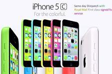 Apple iPhone 5c - 8GB - 16GB - 32GB-pink-weiß-blau - grün-gelb