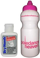 Les mains sèches 2oz + pole dance sport boissons bouteille 500ml x