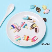 Helado de miniatura DIY crujiente ice lolly Mini - simulación de alimentos