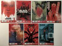 Black Widow #s 1 2 3 4 5 6 7 Run Lot Phil Noto Marvel Comics 2014 Hot New Movie