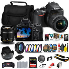 Nikon D3500 DSLR Camera with 18-55mm Lens (1590) + 64GB Extreme Pro Card + 2 x