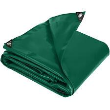 Bâche de protection Jardin Voiture Etanche Résistante avec œillets 550 g/m2 Vert