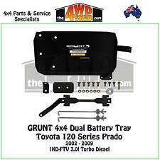 Grunt 4x4 Dual Battery Tray 120 Series Toyota Prado 2002-2009 3.0l Diesel PRAD03