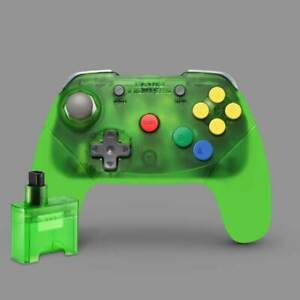 Brawler64 Wireless Edition Controller Nintendo 64 (Green) Official Stockist