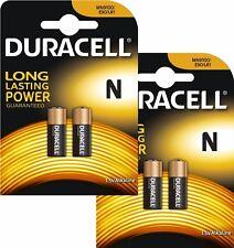 4 pk Duracell 1.5V Alkaline Battery Size N LR1 MN9100 E90