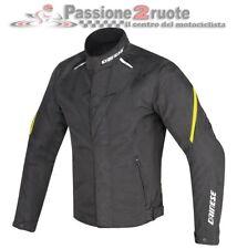 Jacket moto Dainese Laguna seca d1 dry black fluo yellow size 52