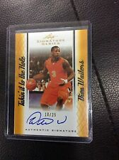 2012-13 Leaf Signature Dion Waiters RC 18/25 Gold takin hole Auto Autograph Heat