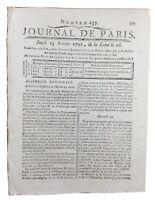 Agitations à Bastia 1791 Paoli Corse Robespierre Louis 16 Révolution Française
