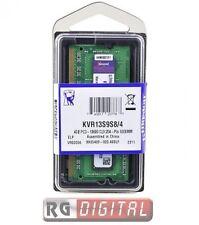 MEMORIA RAM 4GB SO DDR3 1333 MHZ 4 GB DDR 3 CL9 KINGSTON SODIMM X NOTEBOOK