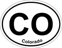 Oval (Colorado); State Bumper Sticker