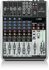 BEHRINGER XENYX Q1204USB 12 Input 2/2 Bus Mixer Compressors USB Audio Interface