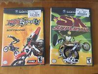 MX Superfly - SX Superstar - Nintendo Gamecube all CiB