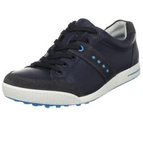 ECCO Men's Golf Street Retro Shoe US Size 8-8.5 Blue Marine New!