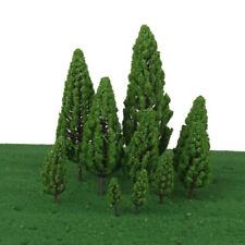 10Pack of Green Model Trees 1:50-1:400