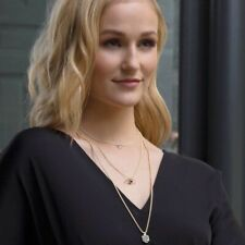 Kendra Scott Oliver Rose Gold Drusy Pendant Necklace adjustable