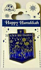 HAPPY HANUKKAH Disney Park Pin Mickey Dreidel Joy and Light! - NEW