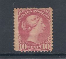 Canada Sc 40 MNH. 1877 10c dull rose lilac Small Queen, Scarce