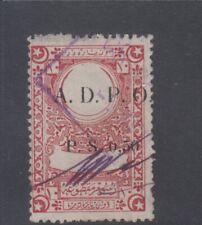 Syria France Occupation ADPO Ovrp. Ottoman Revenue Fiscal SL#5913