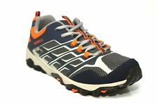 MERRELL ML-G MOAB LOW WTRPF LACE UP TRAINERS Navy