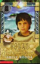 ROWAN AND THE KEEPER OF THE CRYSTAL -EMILY RODDA (ROWAN OF RIN)  EXCELLENT PB