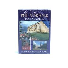 THE NORFOLK PLAYING CARDS 54 PHOTOGRAPHS BY COLIN PALMER NOVELTY UNIQUE GIFT