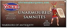 28mm Unarmoured Samnites By Victrix, Hail Caesar, Swordpoint Ancients