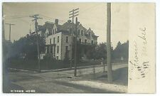 RPPC Widows Home in READING PA Vintage Berks County Real Photo Postcard