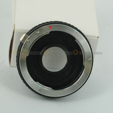 For Pentax PK Lens to Nikon DSLR Body Mount Adapter Ring w/ glass infinit focus
