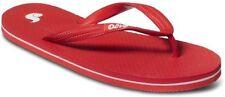 Sandali e scarpe infradito rossa per il mare da donna