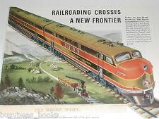 1943 General Motors Diesel advertisement, GREAT NORTHERN EMD FT 5701