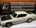 Highway 61 W/GMP Upgrades 1968 Plymouth BARRACUDA 1/18 Scale CUSTOM BUILD 1 Of 1