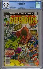 Defenders #40 CGC 9.2 NM- Wp Marvel Comics 1976 Valkyrie Dons New Costume RARE