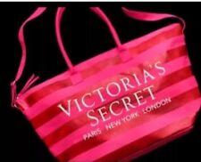 VICTORIA'S SECRET PINK STRIPE GETAWAY WEEKENDER 2016 FASHION SHOW TOTE BAG-New