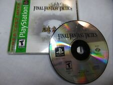 Final Fantasy Tactics (Sony PlayStation 1, 1998) Compete
