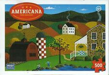 Americana: Indian Summer 500 Piece Puzzle - Colleen Sgroi