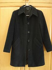 TALULA  BABATON CHARCOAL GRAY WOOL   COAT ~XXS USED