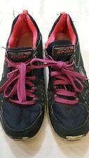 skechers sport - scarpe da ginnastica - blu scuro con stringhe viola - N° 37 -