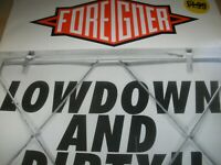 "Foreigner Lowdown And Dirty!! 12"" Vinyl Single 1991 Atlantic A7666T Fleshwound"