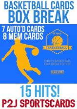 HIT PARADE 2018 FAST BREAK BASKETBALL 1 RANDOM TEAM 1Box Break 383- 15 HITS! NBA