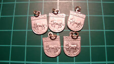 Volendam 60s 60's Dutch hanger heraldiek ketting 5pcs