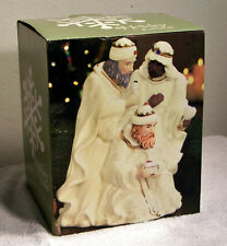 'The Three Kings' by Kirkland's Made w/Porcelain & Gem Stones -Christmas Holiday