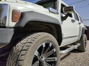 Fenders flares HDTuning for Hummer H3 +80mm