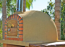 Wood fired pizza oven completely finished and ready to use