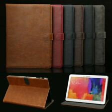Genuine Luxury Leather Case Cover For Samsung Galaxy Tab A 9.7 10.1 10.5 E 9.6''